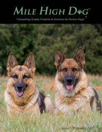 Mile High Dog Magazine cover