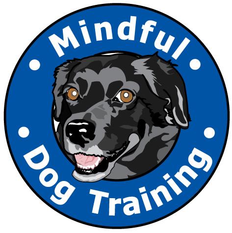logo mindful dog training