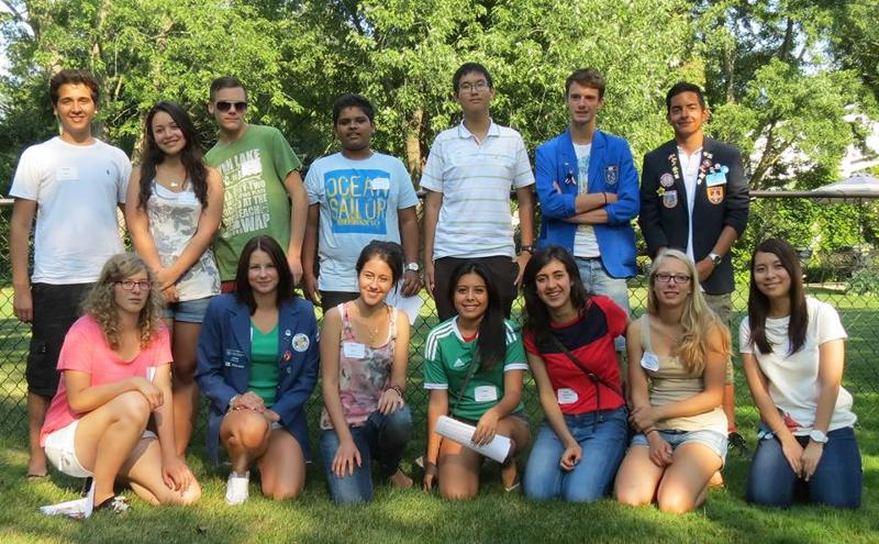 Rotary Youth Exchange Students 2013/2014