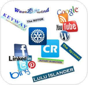 Mix of Social Media Logos