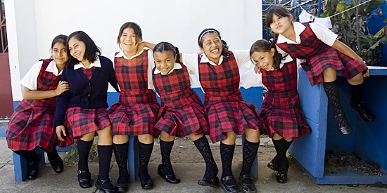 Benefiting Students in Guatemala