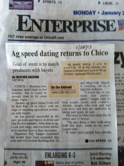 Redding ca speed dating