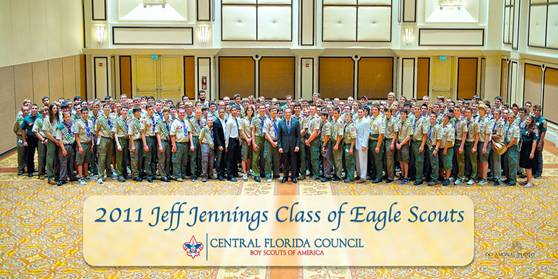 2011 Class of Central Florida Council Eagle Scouts