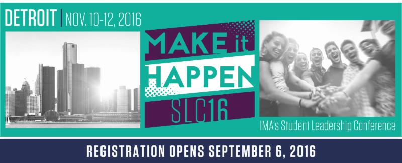 2016 IMA Student Leadership Conference