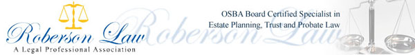 Roberson Law Specilizing in Estate Planning, Probate & Trust Law