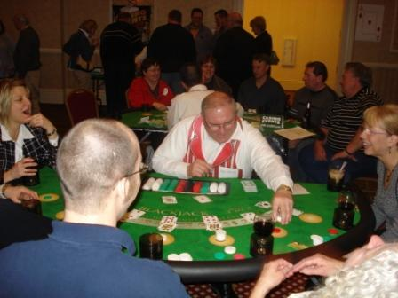 Casino Night fun