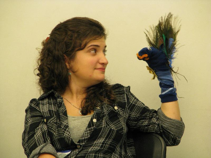 ELTA sock puppet staredown