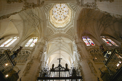 Cathedral interior, Burgos | Sacred Mystical Journeys