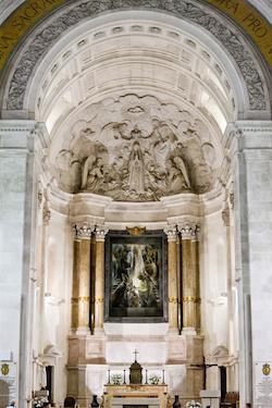 interior of Sanctuary of Our Lady of Fatima, Fatima, Estremadura | Sacred Mystical Journeys