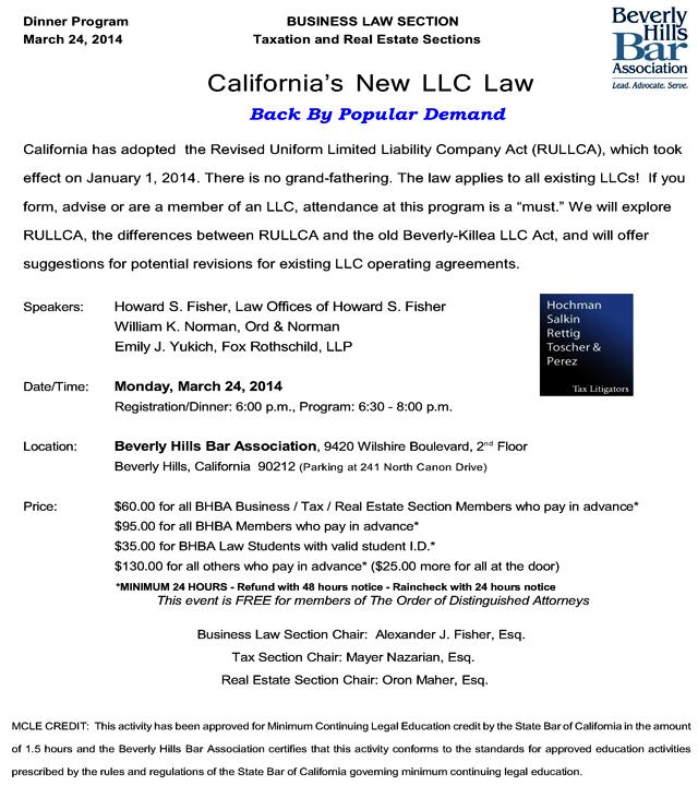LLC Law