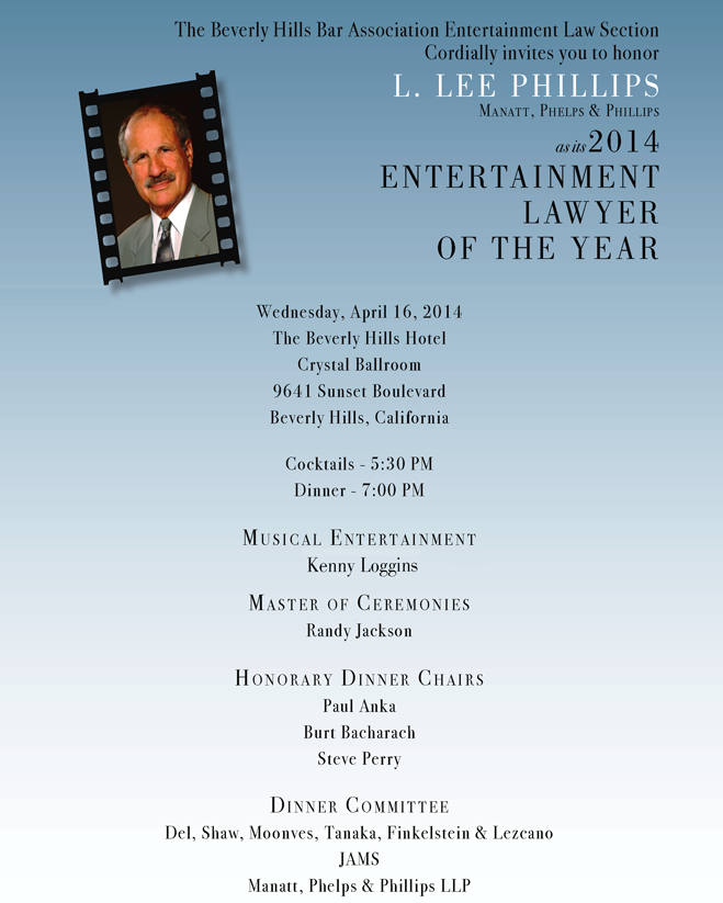 Entertainment Lawyer of the Year 2014