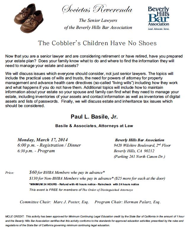 The Cobbler's Children Have No Shoes
