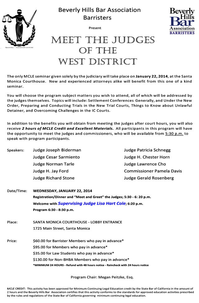 Barr Meet The Judges