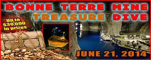 2014 Bonne Terre Mine Treasure Dive