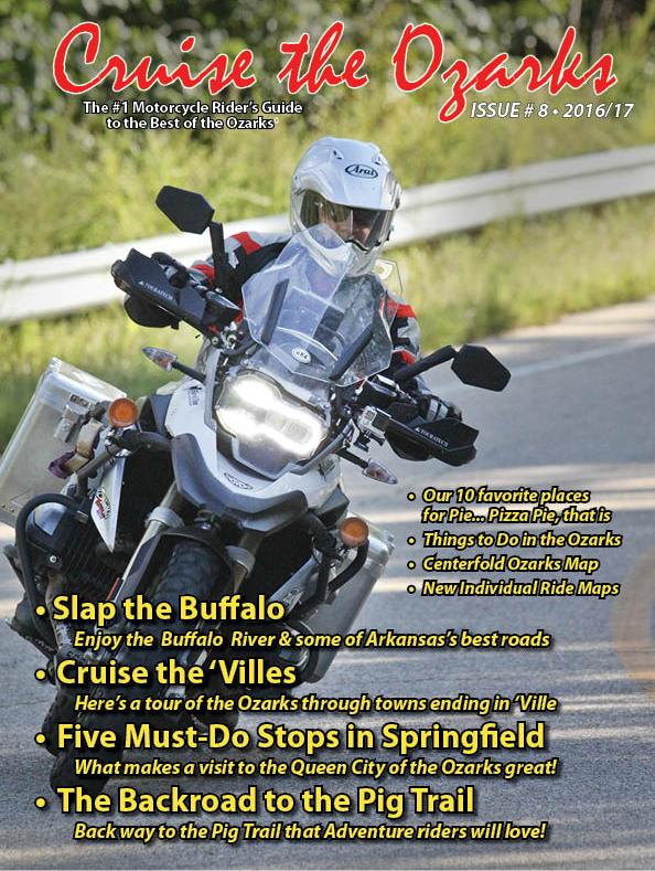 Cruise The Ozarks Rider's Guide 2016 - 2017 Issue #8