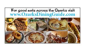 Find great restaurants across the Arkansas and Missouri Ozarks