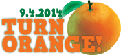 2014 Turn Orange logo