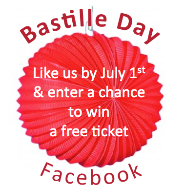 Win a Free Ticket for Bastille Day