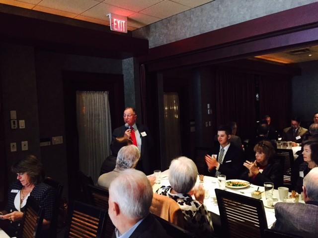 Lester Langer speaking at the Coral Gables Bar Association on Mediation