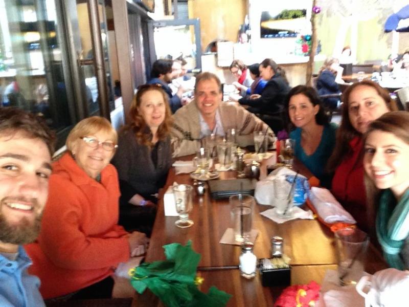 Group picture of DIG staff.  Jonathan, Sharon, Debbie, Matt, Rachel, Adriana, and Anastasia.