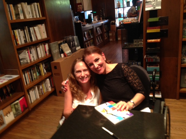 Debbie Dietz and Patricia Bochi at Books and Books Event.