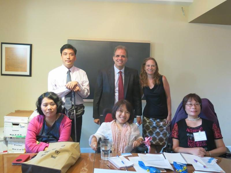 International Visitor Leadership Program with the Taiwanese Delegation with Tarry Lee, Grace Chang, and Chun Chieh Lin.
