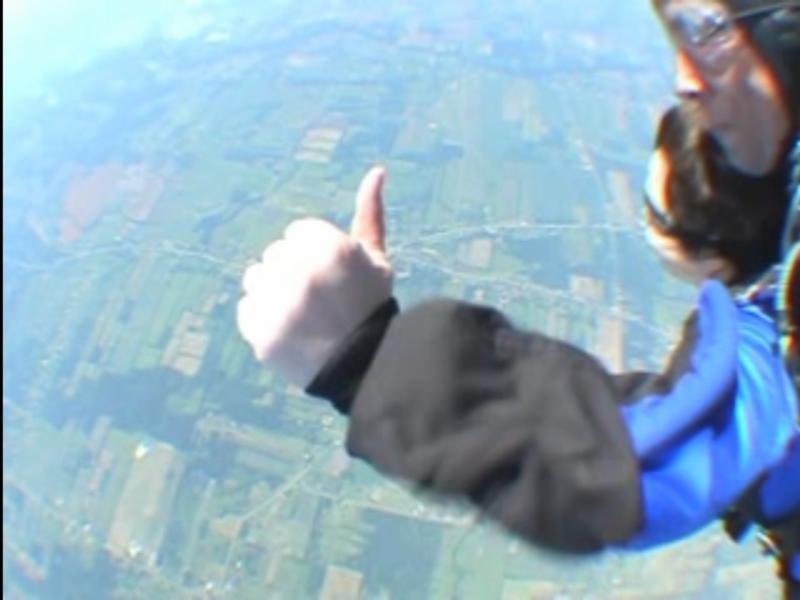 Julie Sky Diving
