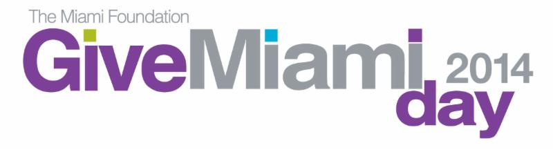 Logo for give Miami day 2014