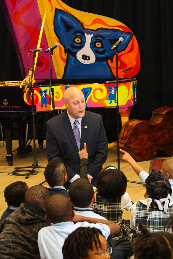 Mayor Landrieu @ Turn the Page Kickoff