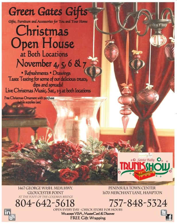 Green Gates Gifts Christmas Open House