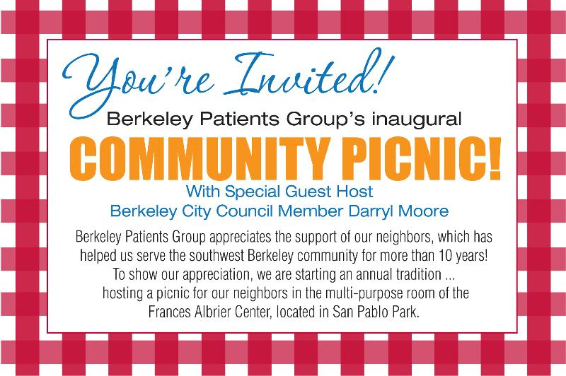 Berkeley Patients Group Picnic