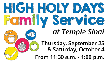 High Holy Days Family Service