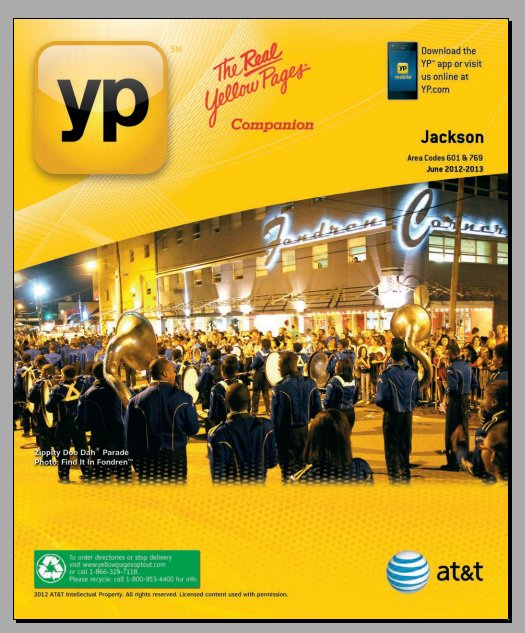 ZDD Yellow Pages Cover