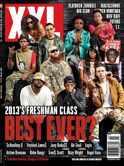 XXL 2013 Freshman Issue