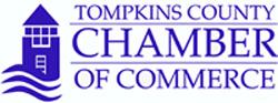Tompkins Chamber Logo - Blue