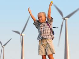 wind energy child