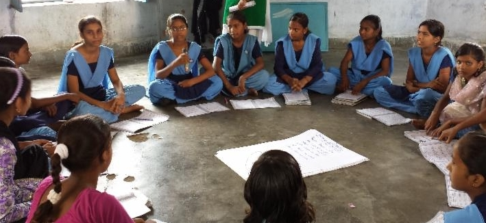 Bihar girls in Group