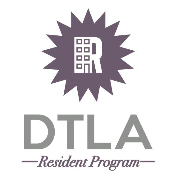 DTLA Resident Program logo