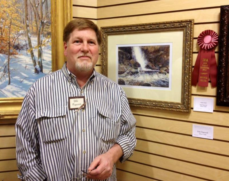 Popovich Painting- Miner's Falls