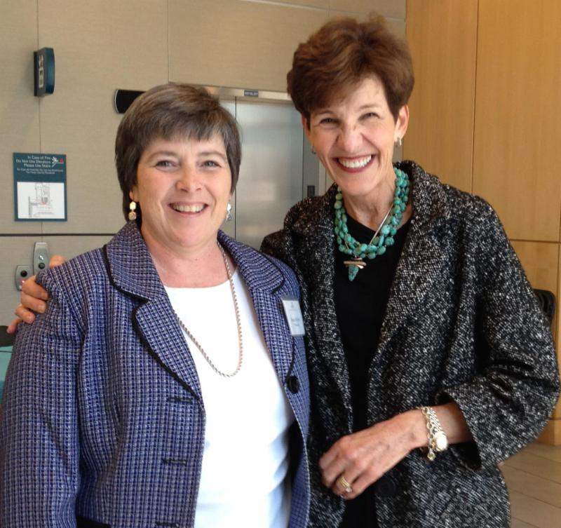 Charleston, SC Keynote- Cindy with Susan Melvin-President, South Carolina Chapter-Scleroderma Foundation