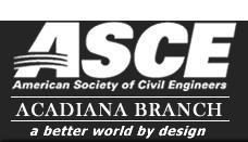 ASCE Acadiana Logo