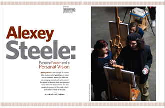 ASteele: American Artist Workshop Magazine