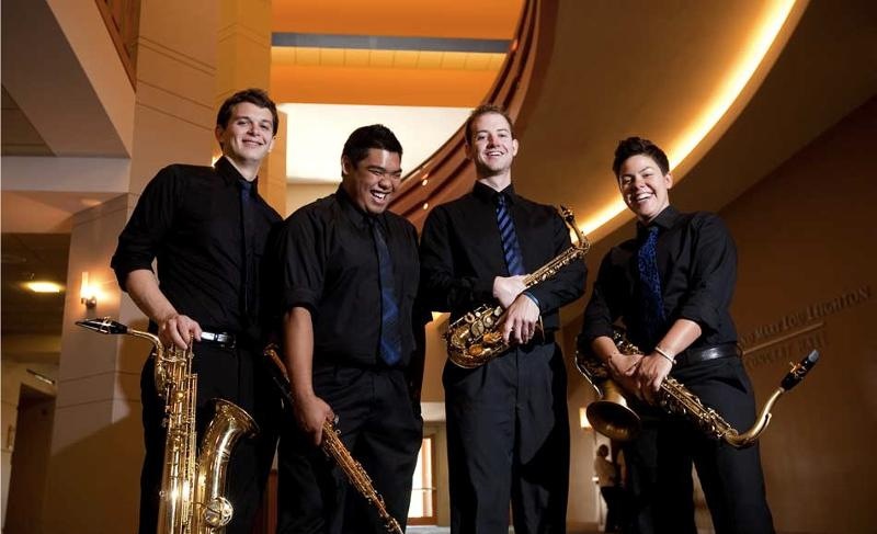 The Angeles Saxophone Quartet
