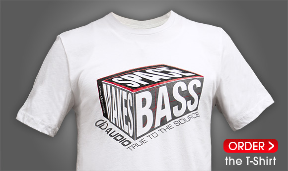 Space Makes Bass T-Shirt
