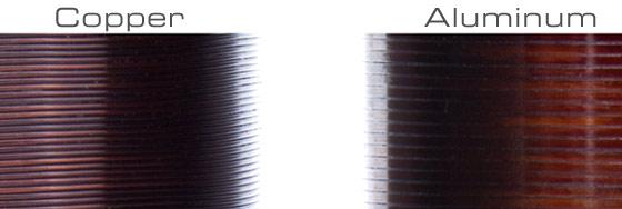 DD coil closeup
