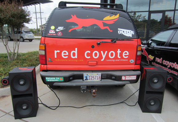 Red Coyote Running install