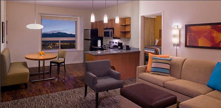 Hyatt House 4 room