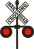 Crossbuck lights