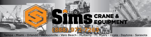 Sims Crane web banner