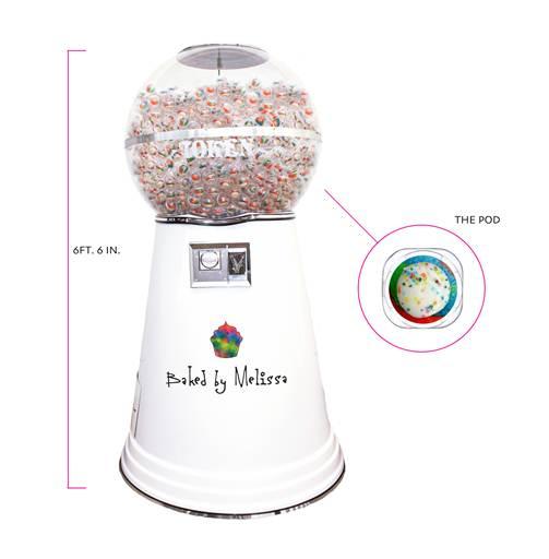 Cupcake Pod Machine